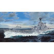 HMS Hood - 130 cm lång!
