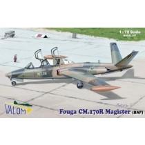 Fouga Magister CM.170. Decals Belgium