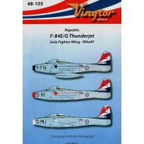 F-84E/G Thunderjet (3) Sola Fighter Wing