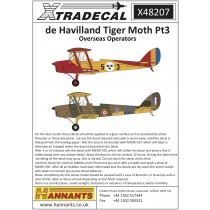 de Havilland DH.82a Tiger Moth Pt3 Overseas Operators (7) inkl. FV Sk11