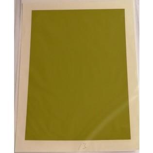 Ljusgrön dekalfilm 125x190 mm