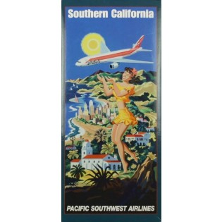 Boeing 777 Pacific Southwest airlines;Southern California
