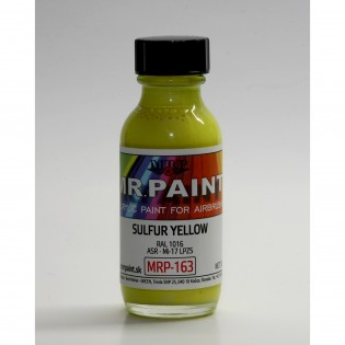Sulfur yellow ASR - Mi-17 LPSZ RAL 1016 30 ml BOKA