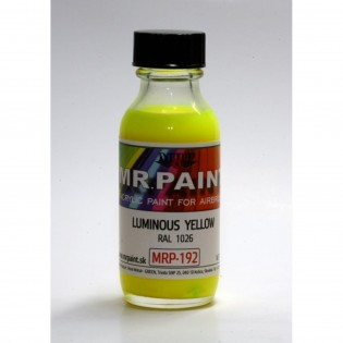 Luminous yellow RAL 1026 30 ml BOKA