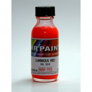 Luminous red RAL 3024 30 ml BOKA