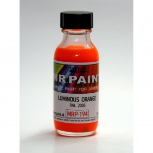 Luminous orange RAL 2005 (Very useful for Sk61 and other trainer dayglow) 30 ml