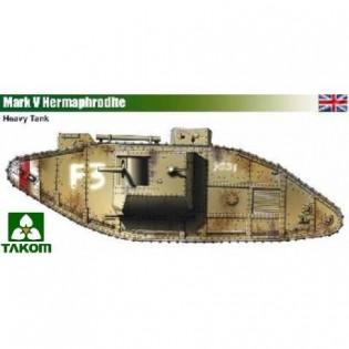 WWI Mark IV Heavy Tank Hermaphrodite