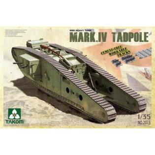 WWI Mark IV Tadpole w/rear Mortar