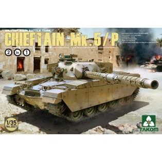 British Main Battle Tank Chieftain Mk.5 /P (2 in 1)