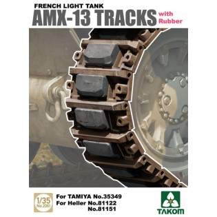 AMX-13 workable Tracks with rubber