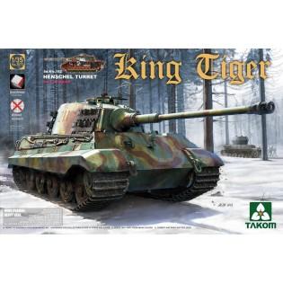 King Tiger Henschel w. Interior