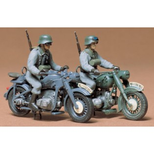 BMW R75 and Zündapp KS750