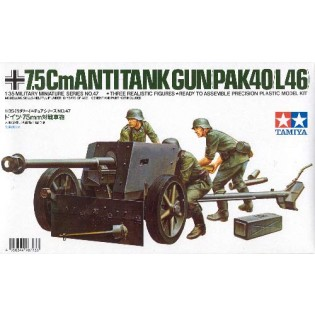 German 75mm anti-tank gun