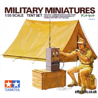 Tent Set and Afrika Korps radio operator