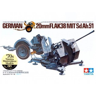 20 mm Flak 38 with trailer