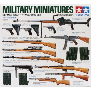 German infantry weapon set