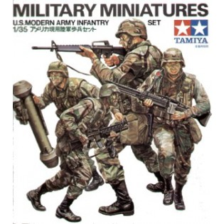 US modern infantry set