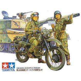 JGSDF motorcycle recce
