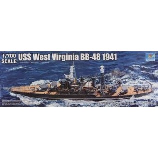 USS. West Virginia BB-48 1941