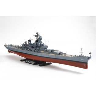 USN Battleship BB-62 New Jersey (w/Detail Up Parts)