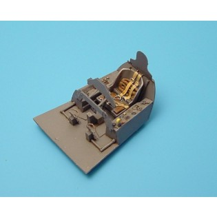 Fw190D cockpit for Tamiya.