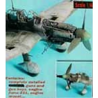 Ju87D Stuka detail set