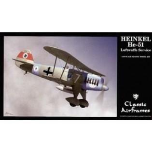 Heinkel He51 in Luftwaffe service