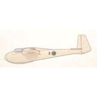 DFS Kranich Se103 i Flygvapnet, svenska dekaler