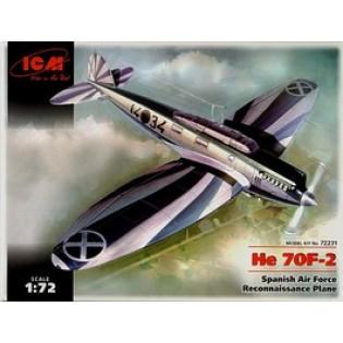 Heinkel He70F-2 reconnaissance Spain