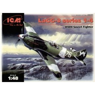 LAGG-3 series 1-4 WWII Soviet fighter