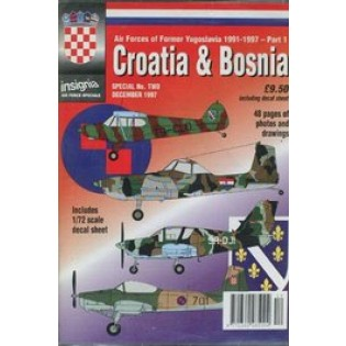 AF special; Croatia & Bosnia1991-97, book & decals