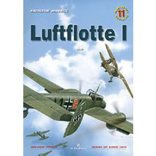 Luftflotte I incl. bookmark with authentic colors OUT OF PRINT
