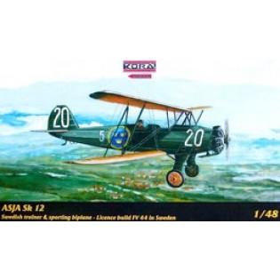 ASJA Fw44 Stieglitz (Sk12 i Flygvapnet)