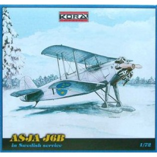 ASJA J6B Jaktfalk  in Swedish service (ski)