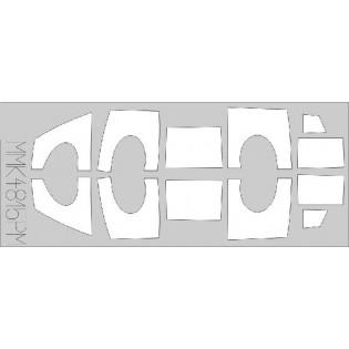 Sk35C Draken 2-sits MÅLNINGSMASK FÖR HUVEN!
