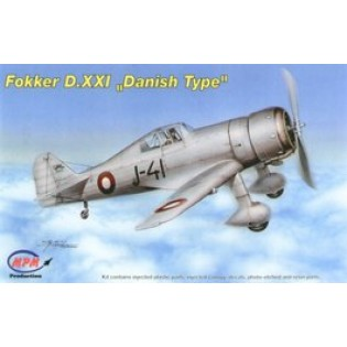 Fokker D.XXI Danish Version