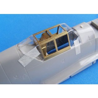 Bf109G detailed canopy
