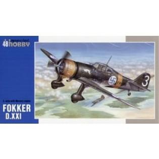 Fokker D.XXI 3. sarja with Mercury engine