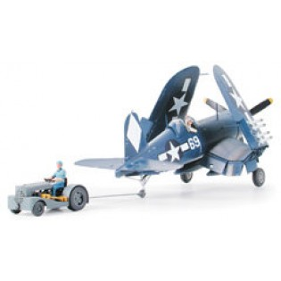F4U-1D Corsair with Moto-tug