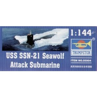 USS SSN-21 Sea Wolf attack submarine