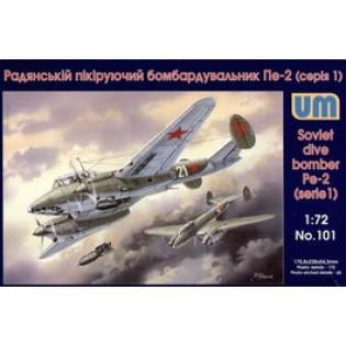 Pe-2 (serie 1) soviet dive bomber