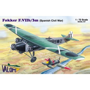 Fokker F.VIIb/3m (Spanish Civil war)