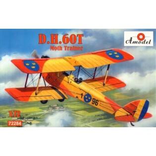dH60T Moth Trainer Swedish Air Force, PP-TZE Aeroclube de Santos Brazil