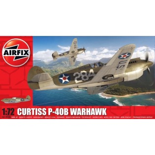 Curtiss P-40B Warhawk NEW TOOL