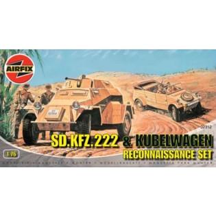 Sdkfz.222 & Kubelwagen Reconnaissance Set