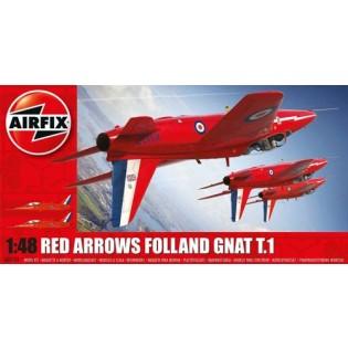 Folland Gnat Red Arrows