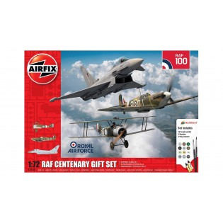 RAF Centenary Gift Set. 3 kits plus tools.