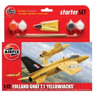 Folland Gnat T.1 Yellowjacks Starter Set