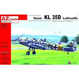 Klemm Kl-35D Luftwaffe x 4 all with different paint schemes