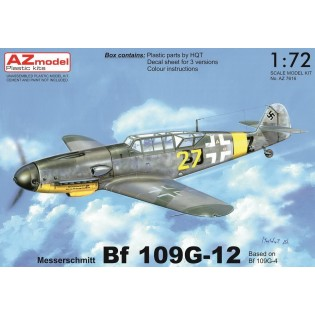 Bf109G-12 (G-4 based) Two-seater